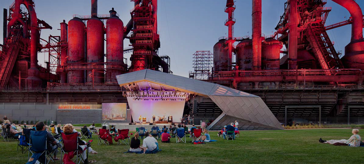SteelStacks艺术文化园区——现实版的机械迷城