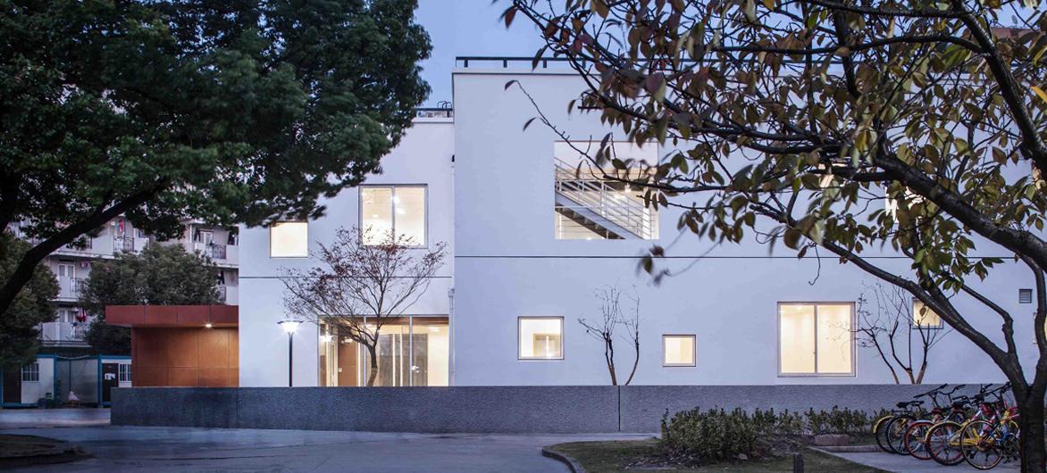 复旦亚洲青年交流中心 / 水石设计米川工作室