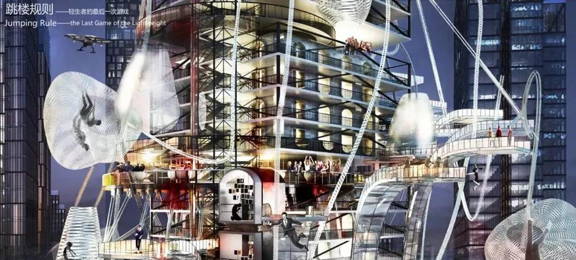别人家的建筑学大四设计作业,看河北工业大学学子如何脑洞大开?