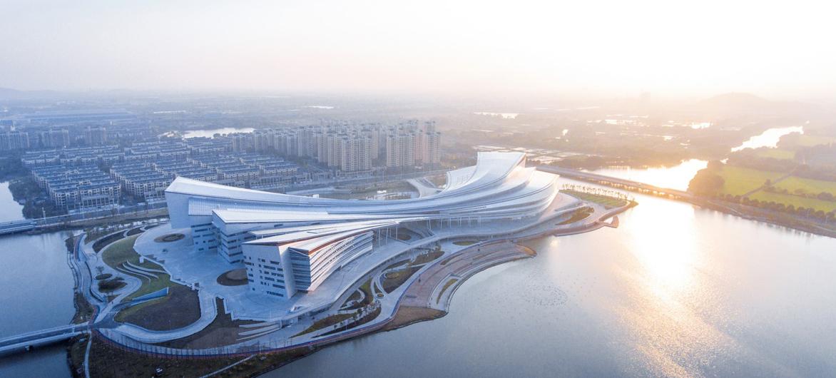 浙江湖州市吴兴区文体中心 / 蔺科(上海)建筑设计