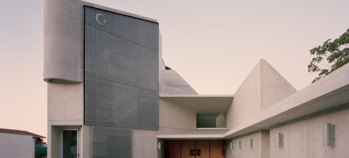 古朴宁静,一座静默立于天幕下的雕塑:Punchbowl 清真寺