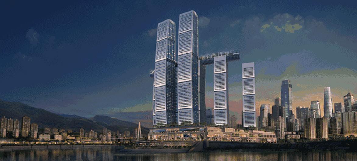 240亿重金打造!5D重庆「帆船魔楼」开业第一天,就被市民挤爆!网友:人从众众众……
