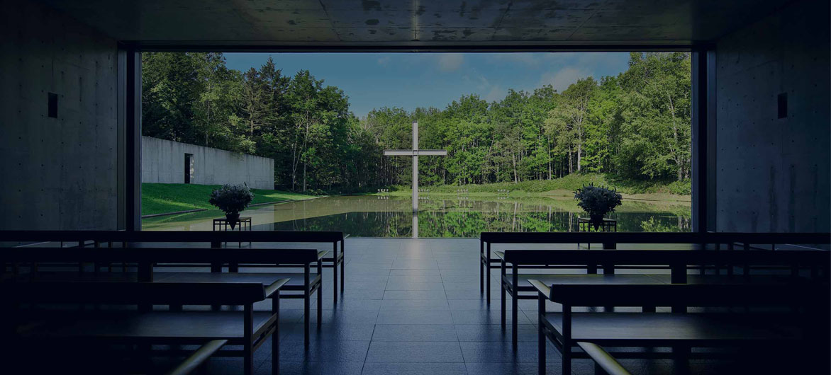 水之教堂案例抄绘 | 抄什么建筑