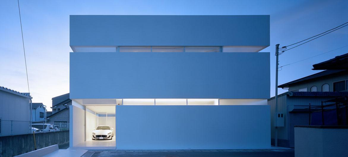 清新极简风——日本高松市住宅 / Fujiwaramuro Architects