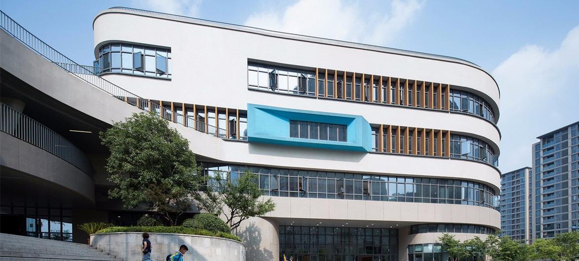 杭州市胜利小学新城校区及附属幼儿园 / 浙江大学建筑设计研究院有限公司