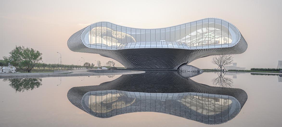 场域空间与艺术镜像:世茂 · 浪花艺术馆 / 北京日清建筑设计