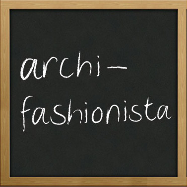 建筑师与fashionista