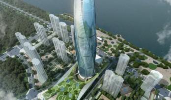 """UA设计的抚顺""""新城之花""""绿地中心"""