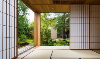 与环境建立联系,日本奈良的花园住宅