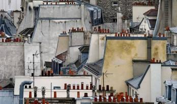 """几何与抽象,Michael Wolf作品""""抽象巴黎"""""""