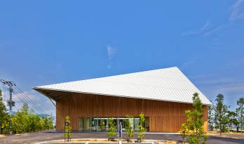 隈研吾为长崎花园露台酒店设计的新建筑