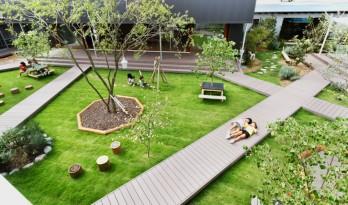 稻田中的幼儿之城,日本茨城县幼儿园 / 比野设计+幼儿之城建筑事务