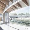 """""""围绕人与自然"""",NOA设计的达城郡市民体育馆竞标方案"""