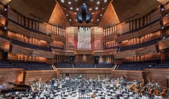 AS建筑事务所为巴黎法国广播大厦设计的音乐厅