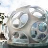 """迈阿密设计展上重现巴克敏斯特·富勒的""""蝇眼""""穹顶(附视频)"""