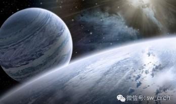越过两万光年的目光   一个建筑师的科幻小说