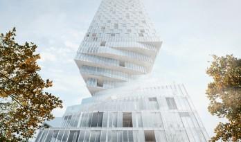 扭腰的大楼,维也纳hochhaus塔楼