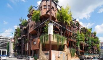意大利都灵的都市树屋,25号绿园