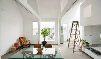 一栋5层公寓的改造,除了明亮就是明亮!