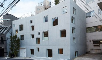 窗户独具特色的东京r4办公楼