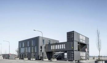 哥本哈根临时性集装箱办公室