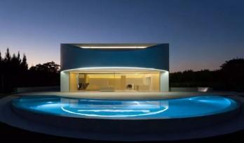 一栋极具未来感的别墅