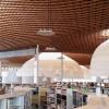 伊东丰雄的巨大灯笼,日本岐阜市图书馆内部设计