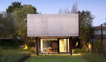 可灵活变更的混凝土居家办公住宅
