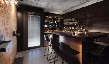 极小空间中的酒吧
