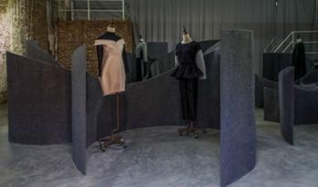 更新建筑设计Vecco Zhao服装展空间装置
