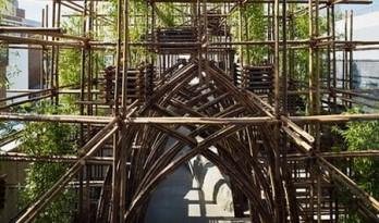 越南建筑师武重义在日本的首个作品——竹林馆