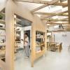 分隔层高 打造开敞的零售空间