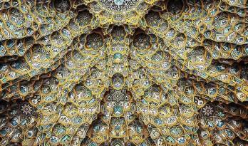 美轮美奂的清真寺华丽穹顶