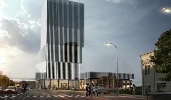 东外滩沿江办公综合体,用新面貌怀揣历史踏步向前