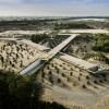 最大化视野的Wasit 湿地游客中心