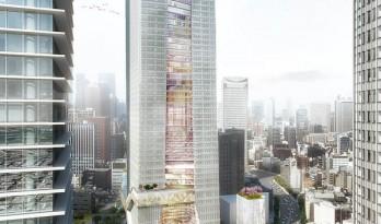 OMA 揭晓了位于东京的混合用途大楼设计