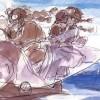 宫崎骏 40 年原画手稿,充满治愈的力量