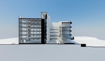 建筑剖透视光影表达