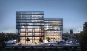 开放与庄严 | 阿姆斯特丹法院设计方案