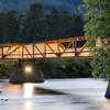 赋予音乐节奏的挪威步行桥