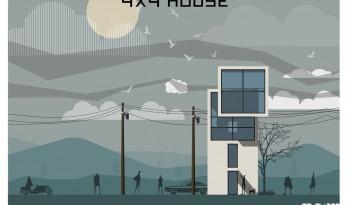 插画风效果图教程第一弹——4X4 House