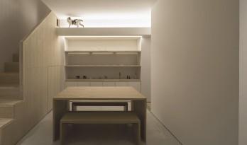 为猫和居者设计的有趣的东京住宅
