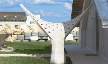 利用古老的石材切割工艺 构建新型结构