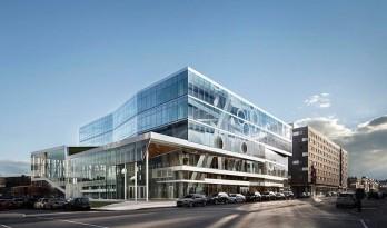 冰屋旧址立剔透学生活动中心,开阔建筑开拓思维