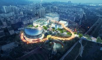 新的运动概念融入深圳!MVRDV设计的体育文化中心方案中标