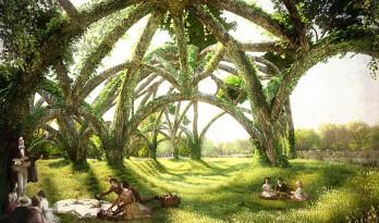 """开启""""野餐项目"""",用奇幻建筑重现希腊神话原始景观"""