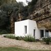 划定全新的空间,镶嵌在岩洞下的家