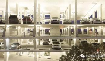 此建筑身体被掏空,成为了世界豪车会所
