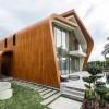 木材包外,皇冠般的小宅遍布成可持续社区