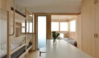 """一家6口蜗居43㎡无采光老房,设计师用""""浴缸""""改造成三室两厅阳光房!"""